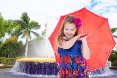 On a fountain Stock Photography