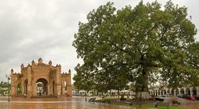 Fountain in Chiapa de Corzo Stock Photo