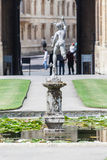 Fountain Christ Church Oxford England Royalty Free Stock Images