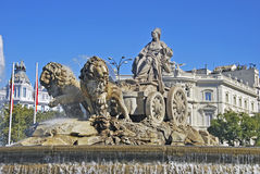 Fountain of Cibeles Royalty Free Stock Image