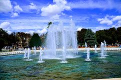 Fountain at city centre!!. Istanbul in Turkey Stock Images