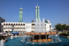 Fountain in the city of Manama, Bahrain Stock Photography