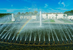 The fountain in the city park of Hanover, Germany Royalty Free Stock Photography