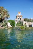Fountain in Ciutadella Park Royalty Free Stock Photography