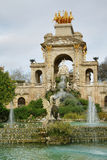 Fountain in Ciutadella park Royalty Free Stock Photo