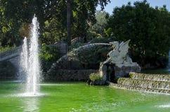 Fountain Ciutadella park in barcelona Royalty Free Stock Images