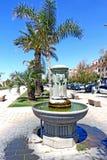 Fountain. Civitavecchia roma italia, an ancient city center fountain that represents a lion royalty free stock photos