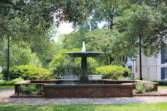 Fountain in Columbia Square Stock Photography