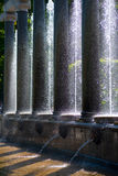 Fountain and columns Royalty Free Stock Photos