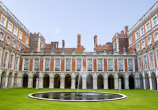 Fountain Court at Hampton Court Palace Royalty Free Stock Photography