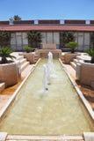 Fountain in a cozy patio Stock Photo