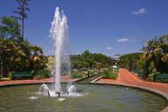Fountain at Daniel Stowe Stock Photography