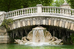 Fountain of darcy park in Dijon Royalty Free Stock Images