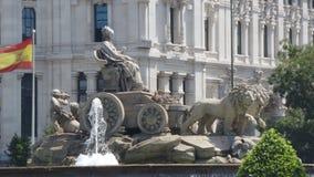 Fountain de Cibeles Στοκ φωτογραφίες με δικαίωμα ελεύθερης χρήσης