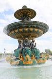 Fountain de la Concorde illustration stock