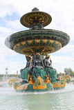 Fountain de la Concorde Royalty Free Stock Photos