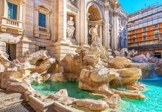 Fountain de Trevi fotos de archivo