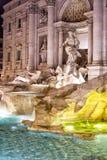 Fountain de Trevi en Roma foto de archivo libre de regalías