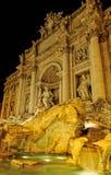 Fountain de trevi, Rome, Italy. Royalty Free Stock Images