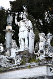 Fountain of Dea di Roma in Roma, Italy Royalty Free Stock Photos