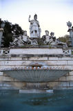 Fountain of  Dea di Roma in Roma, Italy Stock Image