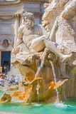 Fountain dei Fiumi in Rome, Italy Royalty Free Stock Images
