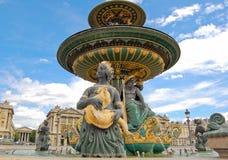 Fountain des Fleuves Stock Image