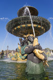 Fountain des Mers, Concorde square, Paris Royalty Free Stock Photo