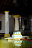 Fountain detail at Masjid Kampung Hulu in Malacca, Malaysia Royalty Free Stock Photography