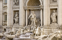 Fountain di Trevi Photos libres de droits