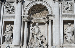 Fountain di Trevi Imagen de archivo libre de regalías