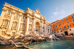 Fountain di Trevi Royalty Free Stock Image