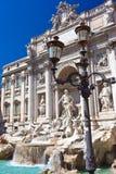 Fountain di Trevi foto de archivo libre de regalías