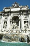 Fountain di Trevi. Close view of Fountain di Trevi, Rome, Italy stock image