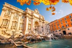 Fountain di Trevi Imágenes de archivo libres de regalías