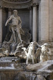 fountain di Trevi 图库摄影