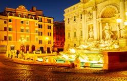 Fountain di Trevi en Roma, Italia fotografía de archivo libre de regalías