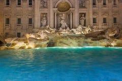 Fountain di Trevi en Roma Italia fotos de archivo libres de regalías