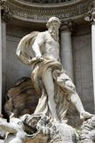 Fountain di Trevi - famous Rome's place Stock Photography