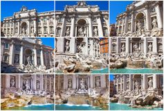 Fountain di Trevi Stock Image