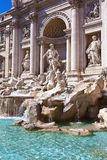Fountain di Trevi Stock Photo