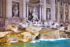 Fountain di Trevi Stock Images