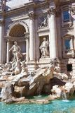 Fountain di Trevi Royalty Free Stock Photo