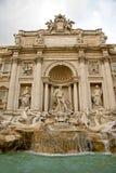 Fountain Di Trevi Roma fotografía de archivo libre de regalías