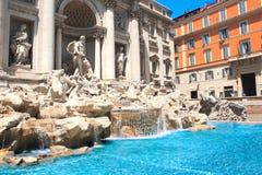 Fountain di Trevi in Rome Royalty Free Stock Image