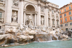 Fountain di Trevi Royalty Free Stock Images