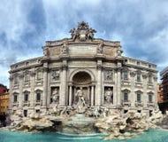 Fountain di Trevi, Rome Stock Images