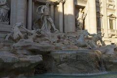 Fountain di Trevi ,Rome. Italy. Stock Image