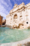 Fountain di Trevi in Rome, Italy Royalty Free Stock Photography