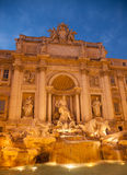 The fountain di Trevi Royalty Free Stock Images
